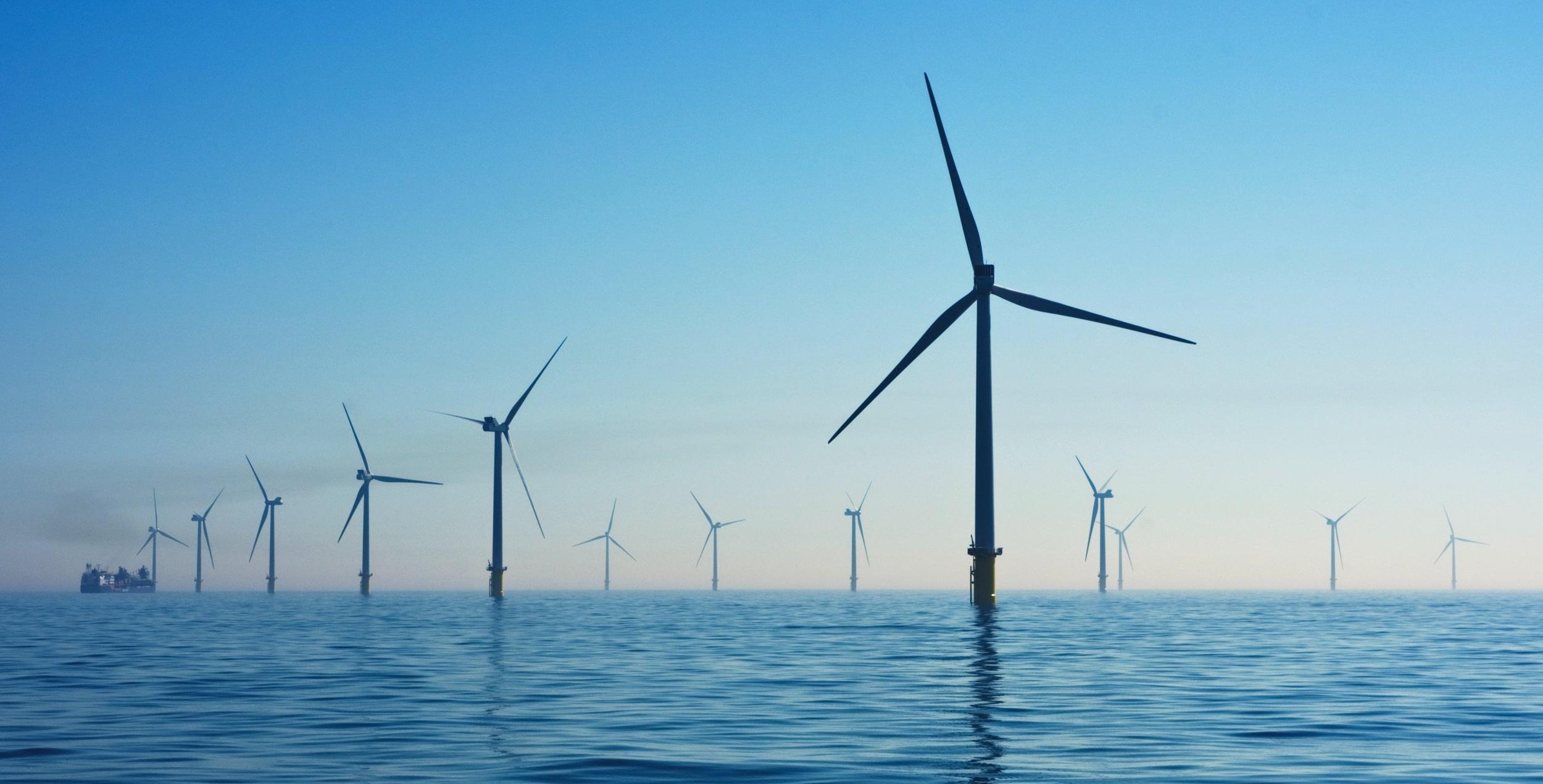 Rampion Offshore Wind Farm, United Kingdom. Photo by    Nicholas Doherty    on    Unsplash   .