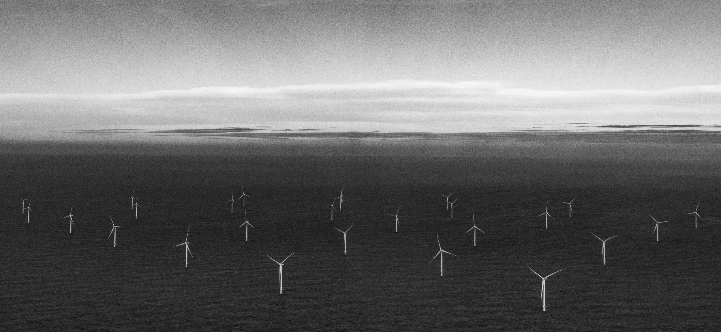 Race Bank Offshore Wind Farm, 27km off the coast of Norfolk, UK. Photo by    Nicholas Doherty    on    Unsplash