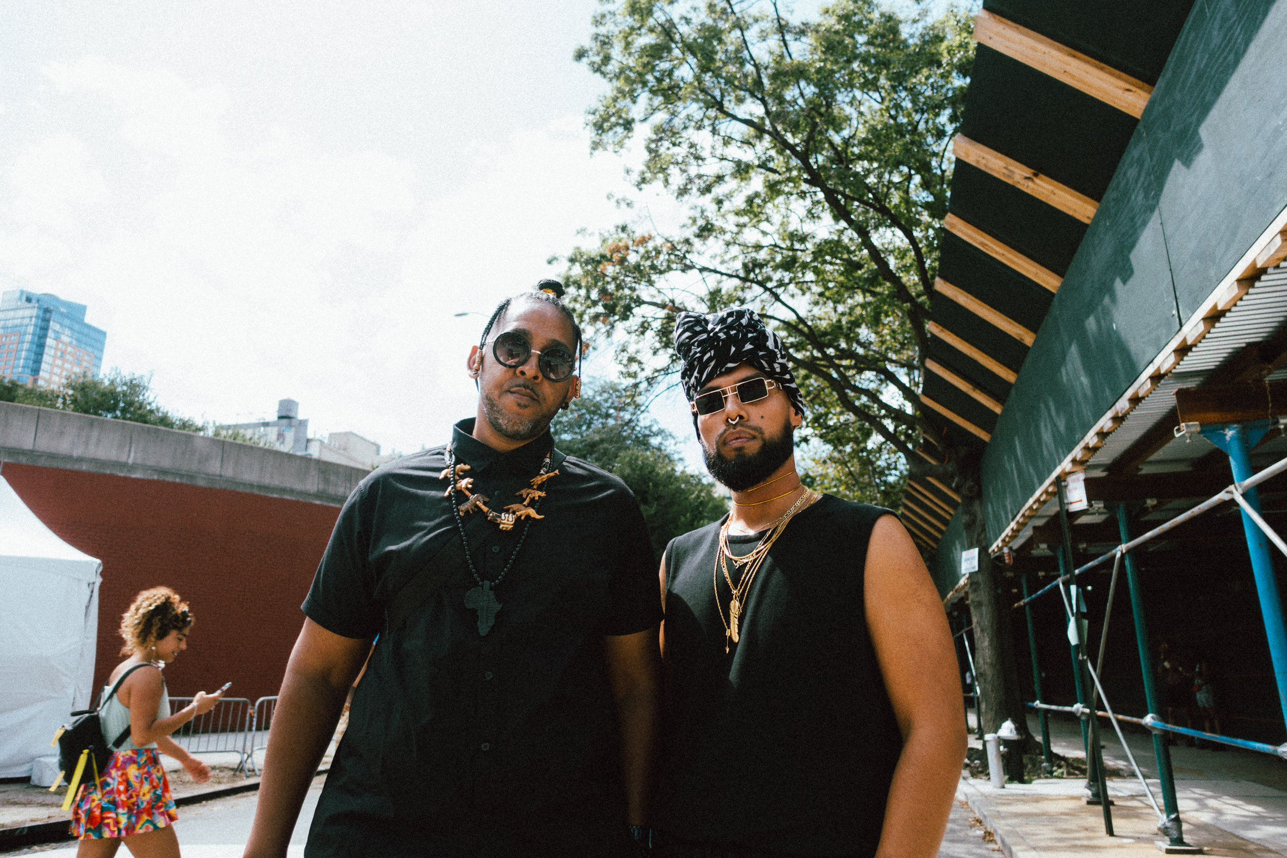 Brothers at AfroPunk