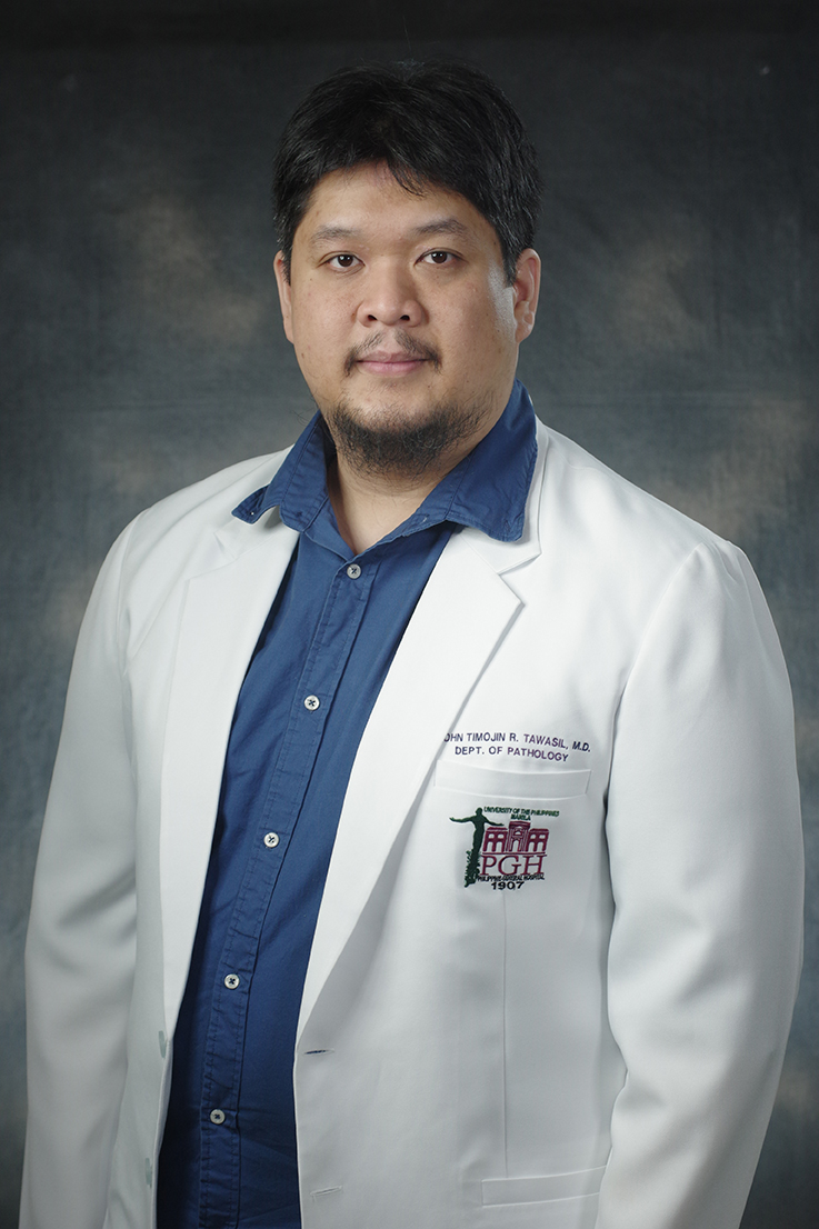 John Timojion R.  Tawasil, MD, DPSP