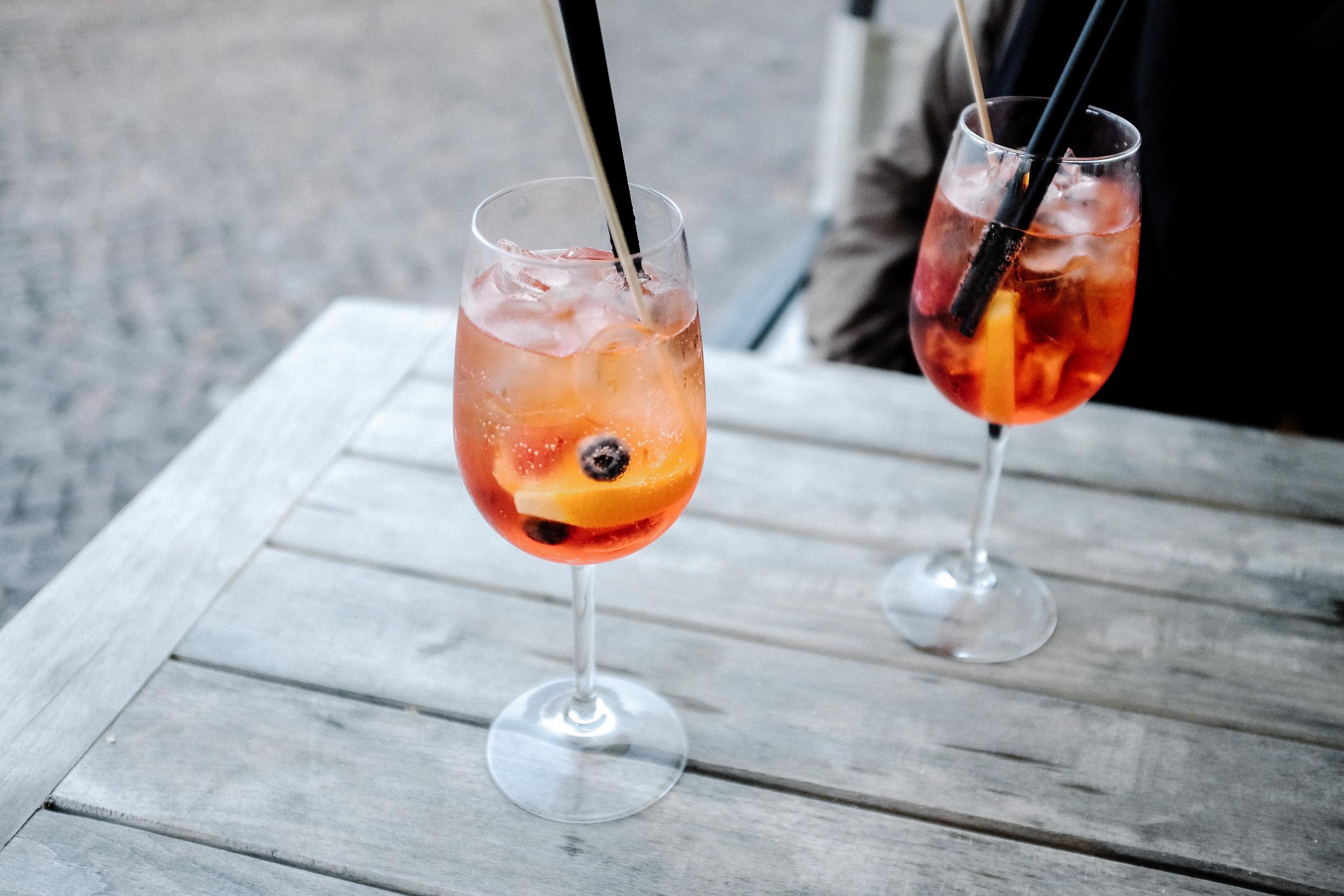 Aperol Spritz - Aperol, Prosecco, Club Soda | 9