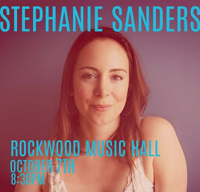 OG hawk and dove bandmate @sandstephanie is having a record release show this Monday evening at Rockwood Music Hall!  Come on out to hear her stunningly beautiful new tunes performed by an all-star band.  See you there!