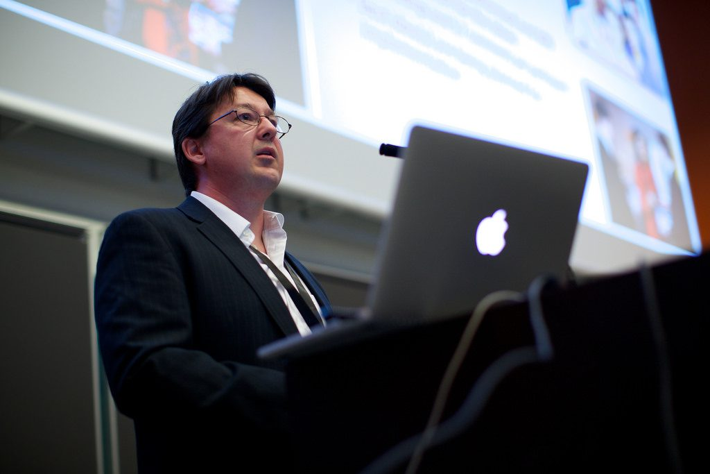 Speaking at Crowdsourcing Week Europe 2014 in Denmark