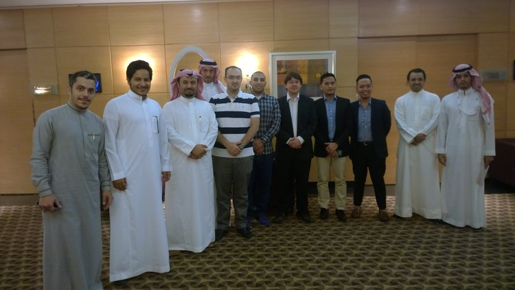 Running a social recruitment training session in Saudi Arabia