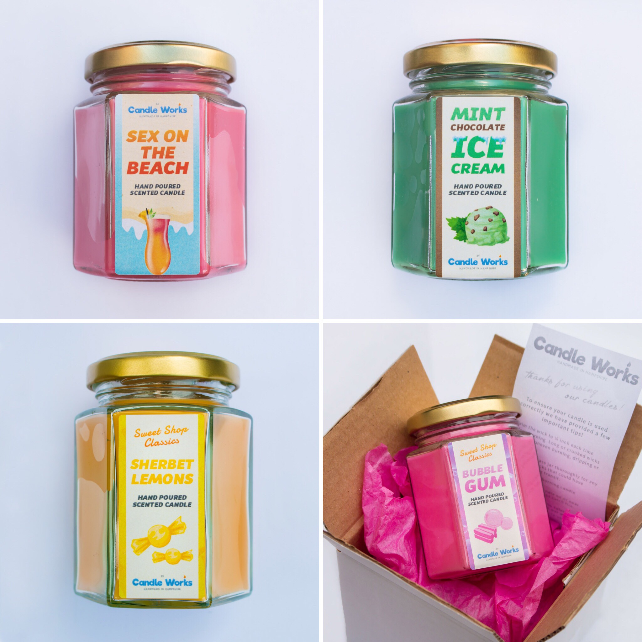 Wholesale - We can provide high quality, handmade candles at a discounted price for a minimum order quantity. This is usually 20 units, however we can discuss your requirements via email beforehand.All items on our store are available as wholesale.Candles & Melts are made to order and can take up to a week to be processed, or longer if a larger shipment is required.Once your wholesale order is completed, we will dispatch it via DPD Next Day Delivery. Timescales will vary depending on your requirements.If you're interested in any wholesale services or would like to become a temp/permanent stockist, get in touch today! Contact UsDownload our 2019 wholesale catalog here.