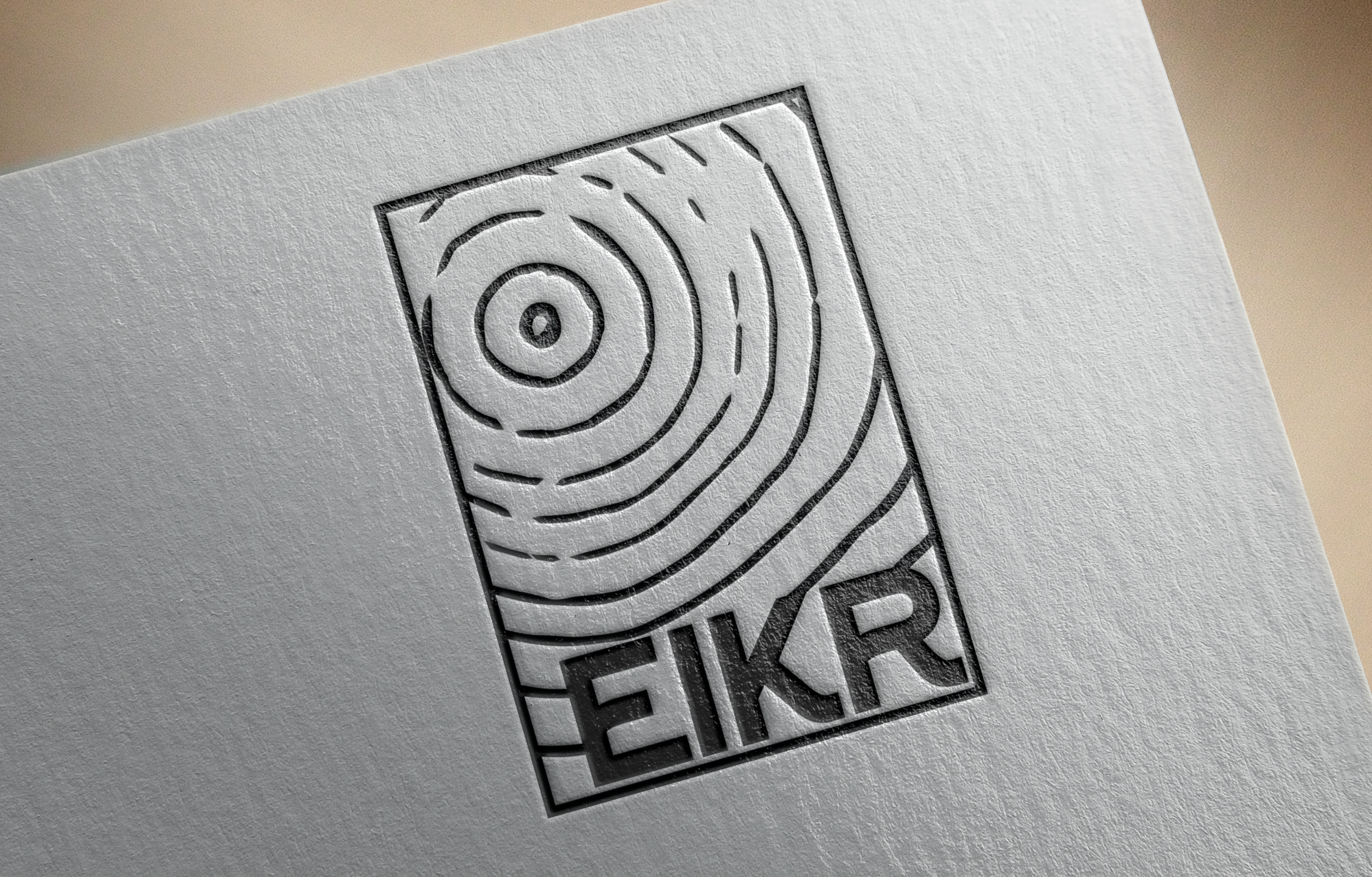 Branding for Eikr Architects, a Scandinavian firm dedicated to sustainable module design