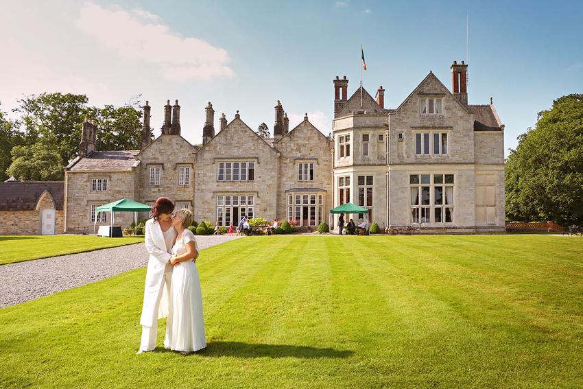 Katie & Roisin, Lough Rynn Castle