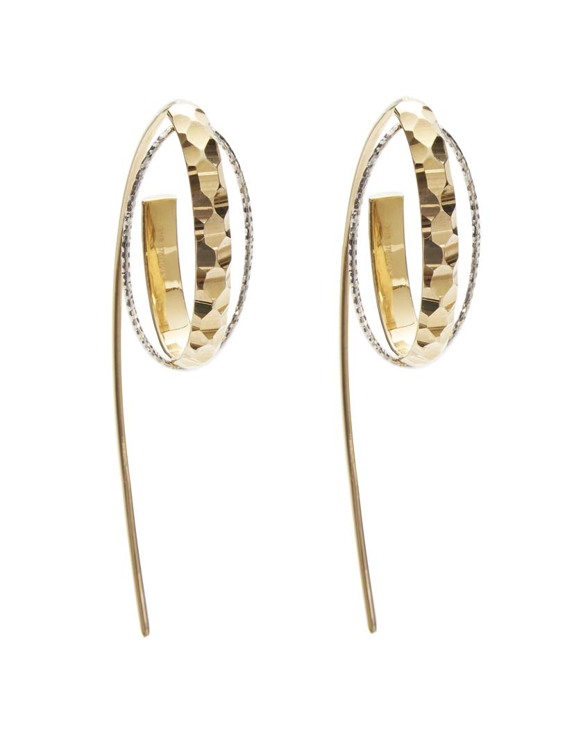 DUNES HOOK EARRINGS front - gold+ white gold 2.jpg