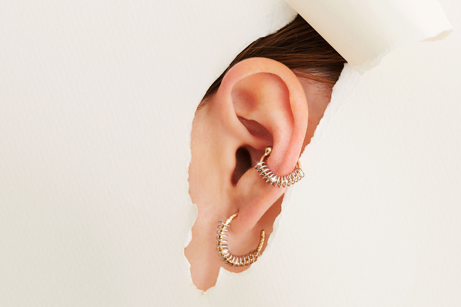 FINE - THUNDER EARRING/RUMBLE EAR CUFF