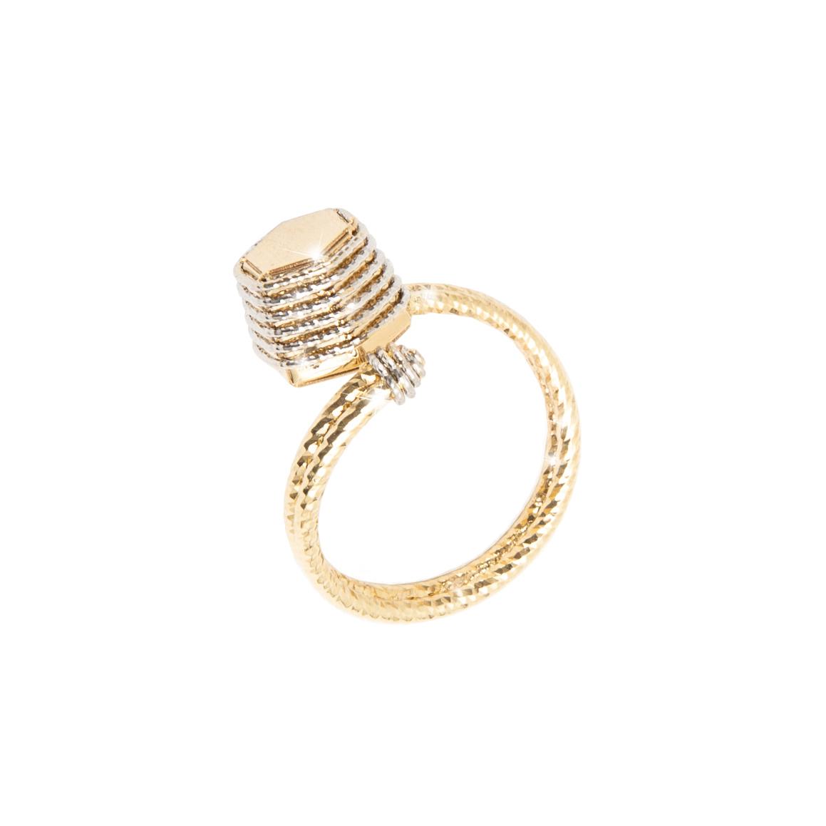 Giuliana Mancinelli Bonafaccia gold Fine Prickly Ring.jpg