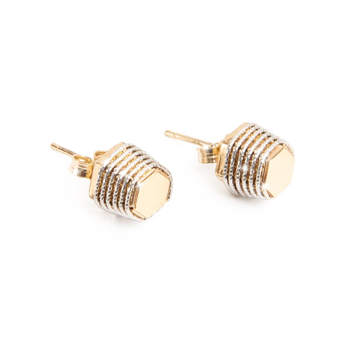 Giuliana Mancinelli Bonafaccia gold Fine Prickly Earrings.jpg