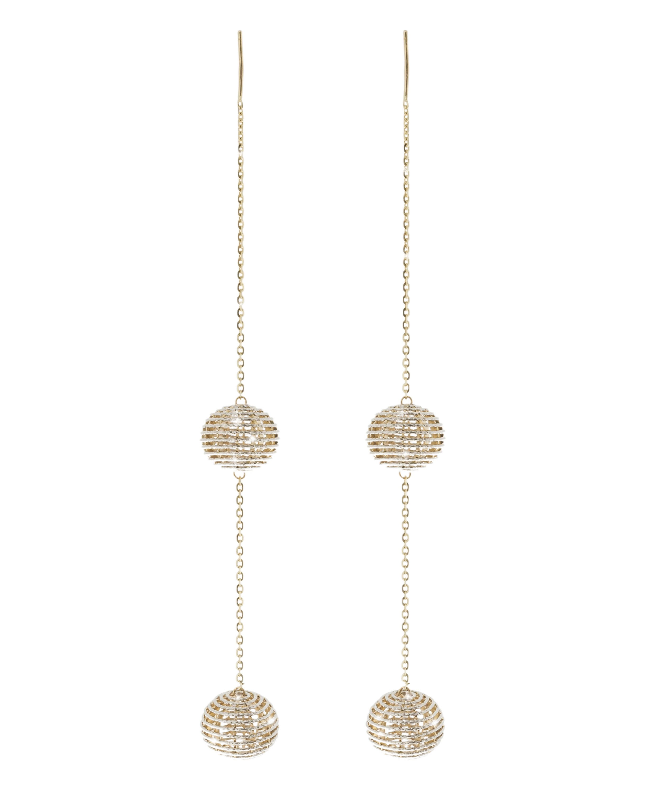 Giuliana Mancinelli Bonafaccia gold Fine Jewelry Noesi double Earrings.jpg