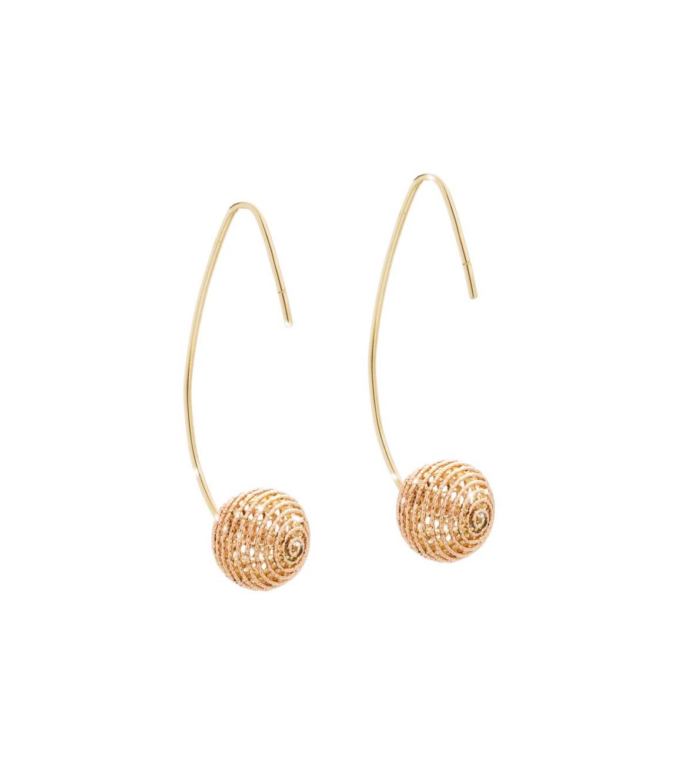 Giuliana Mancinelli Bonafaccia gold Fine Jewelry Hook Earrings.jpg