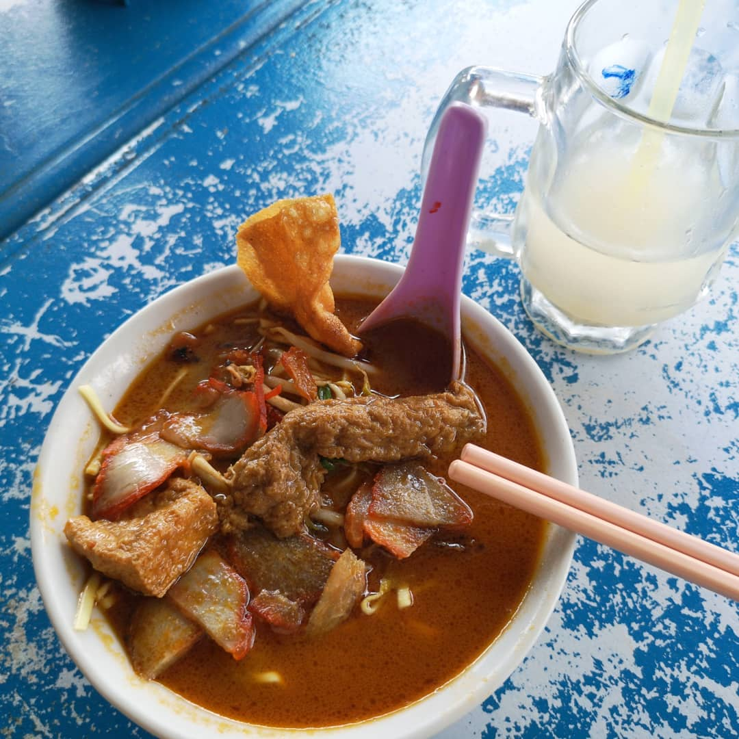 Botak Curry Mee, Kluang