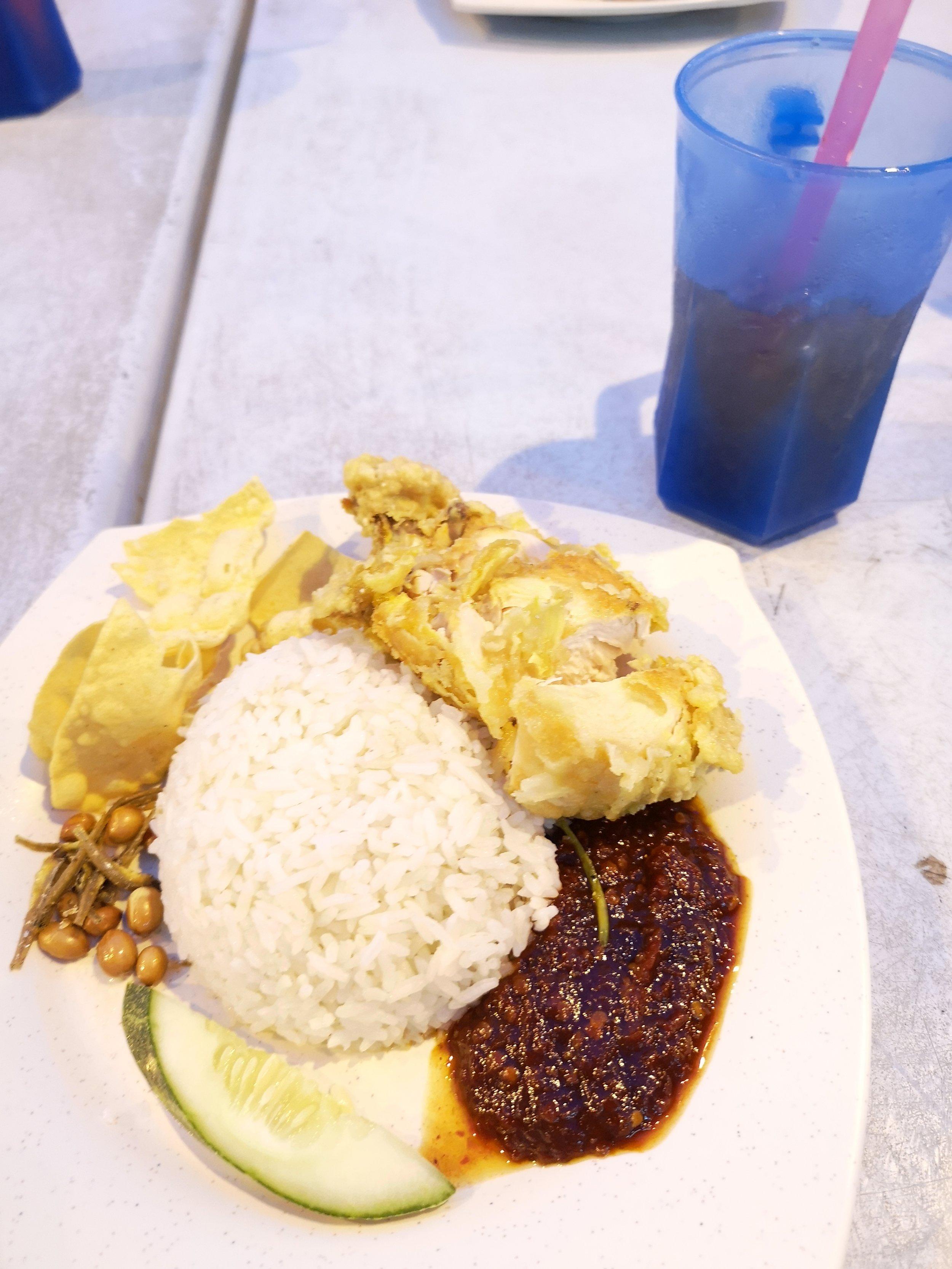 Nasi Lemak from Nasi Lemak World, Kluang