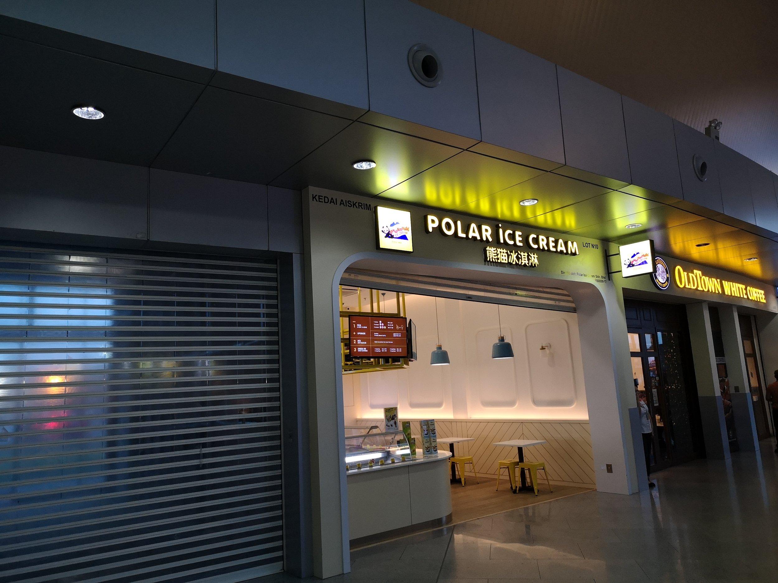 Polar Ice Cream Senai Airport
