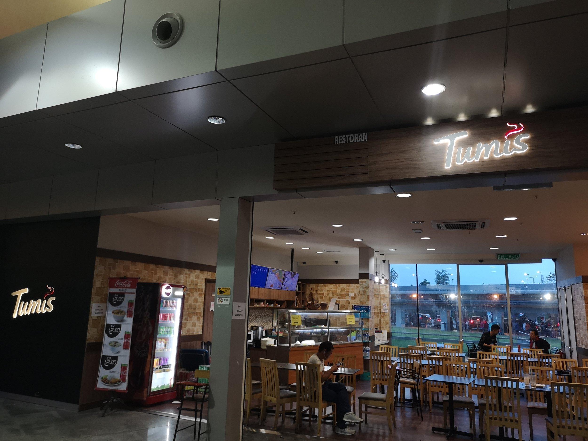 Tumis Restaurant Senai Airport