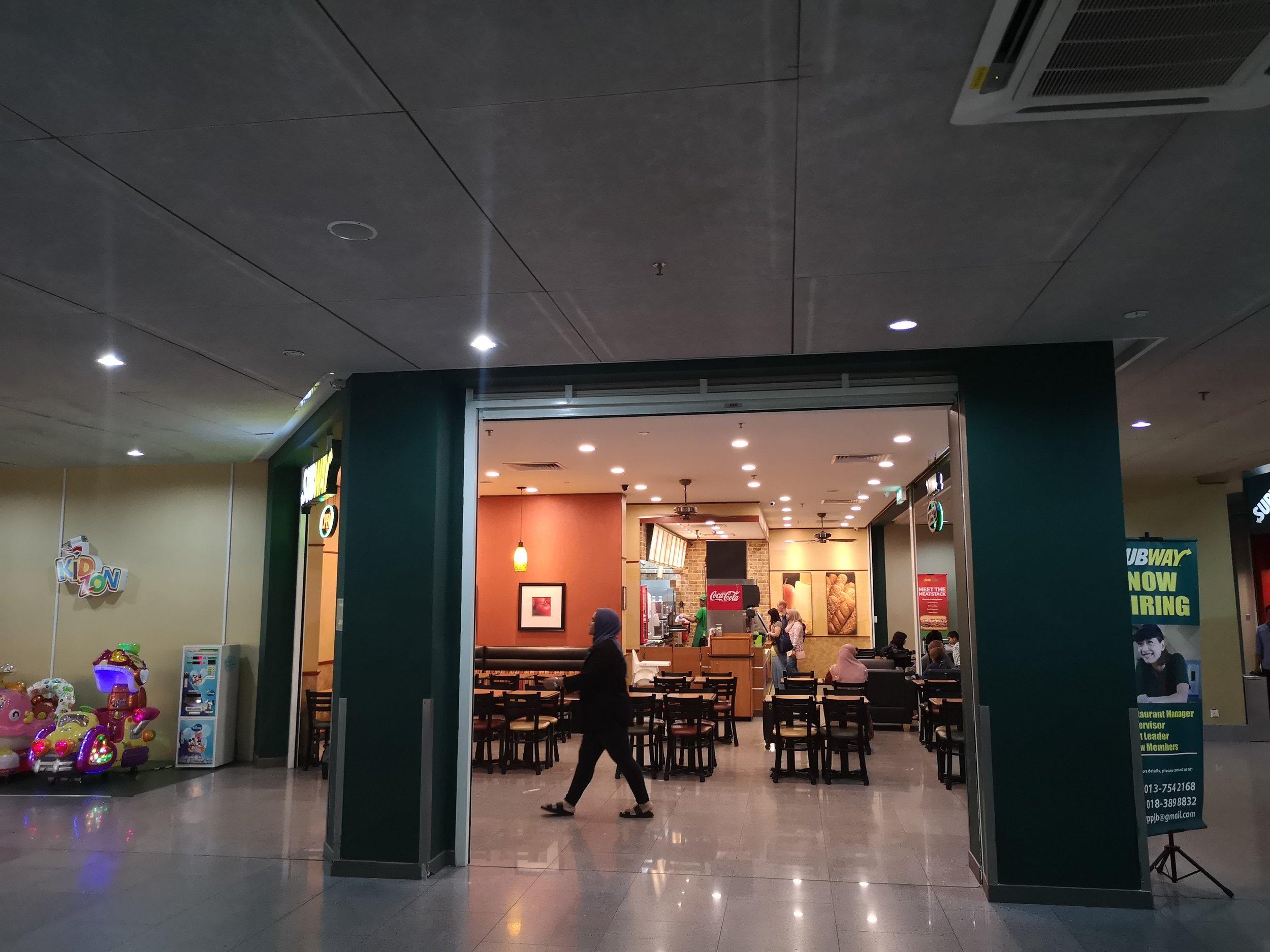 Subway Senai Airport