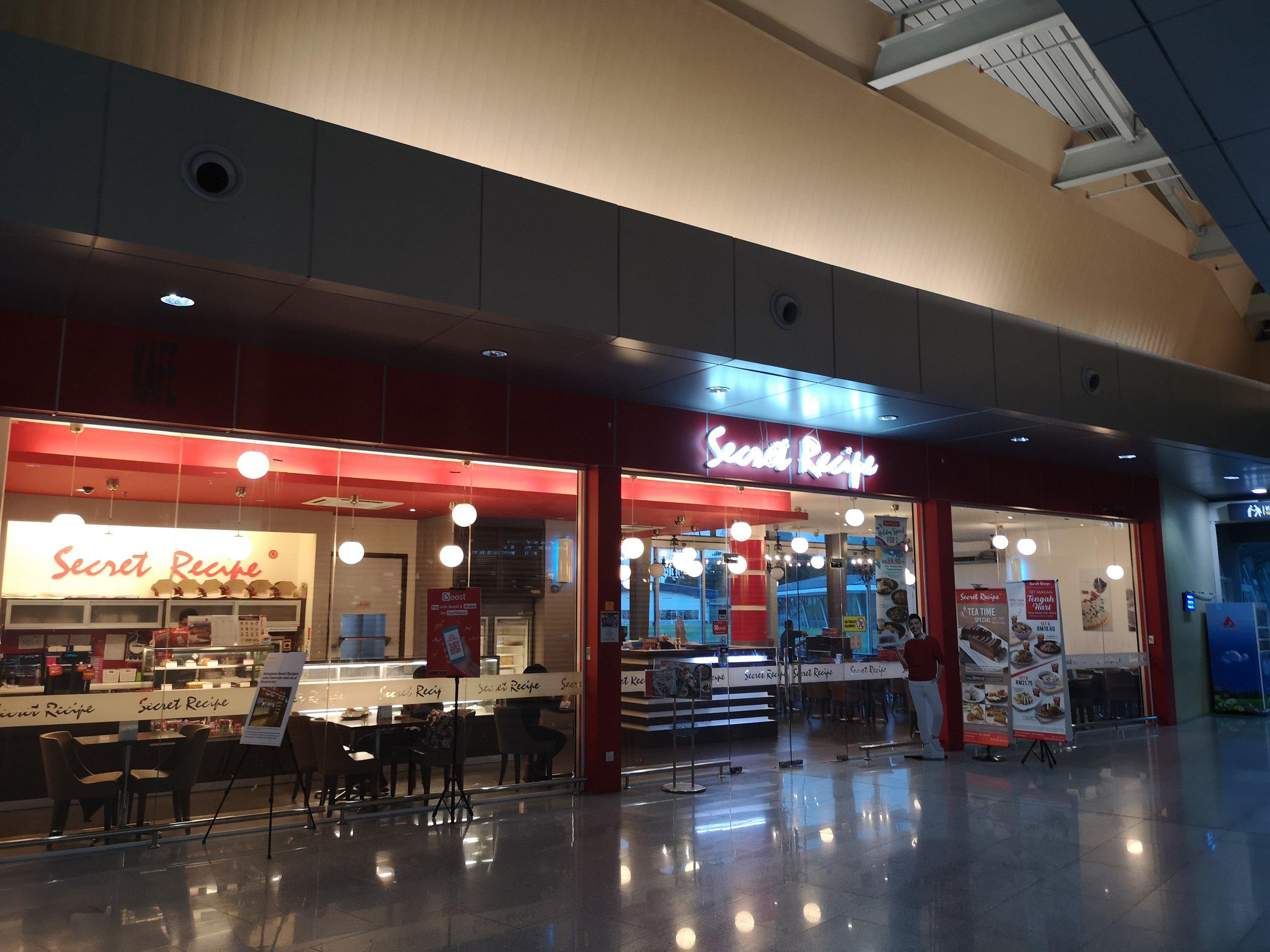 Secret Recipe Senai Airport