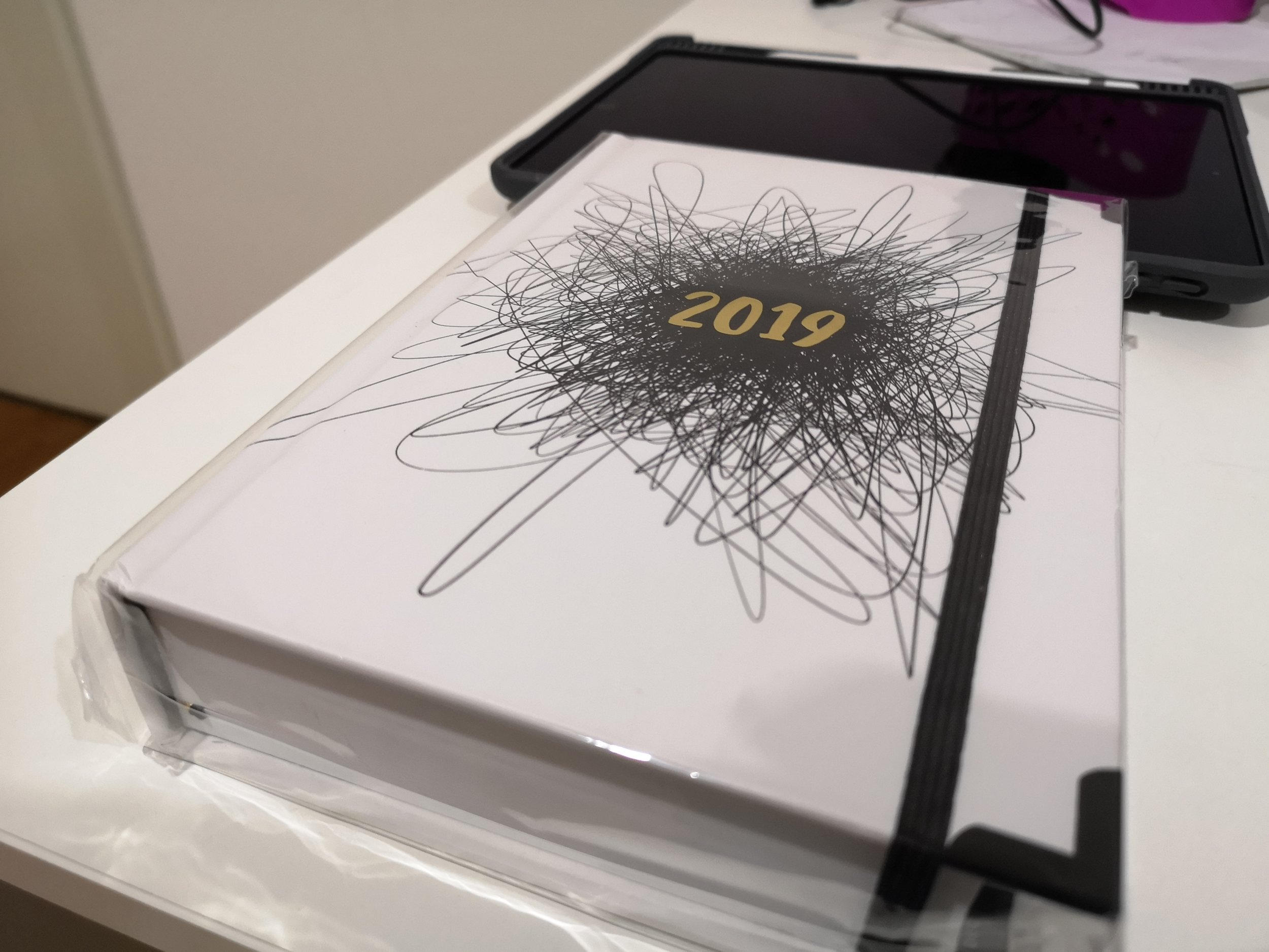 Imperfect Life Planner 2019 by Kerry Lyon