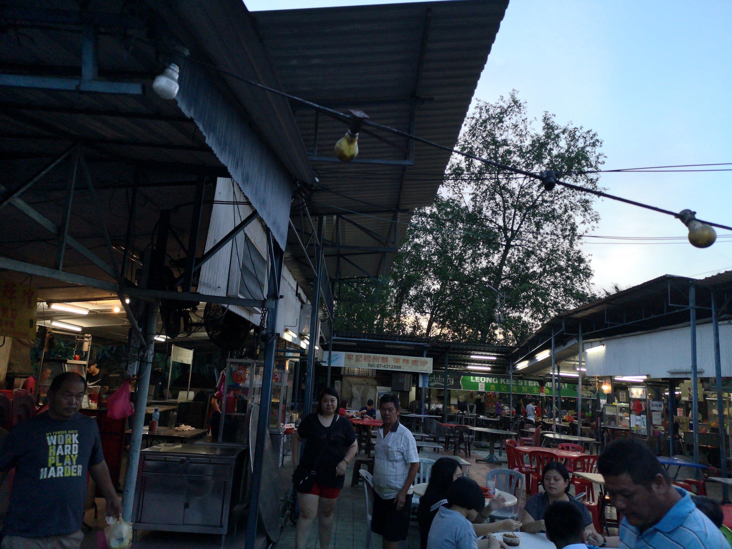 Hai Kee Hawker Center Batu Pahat
