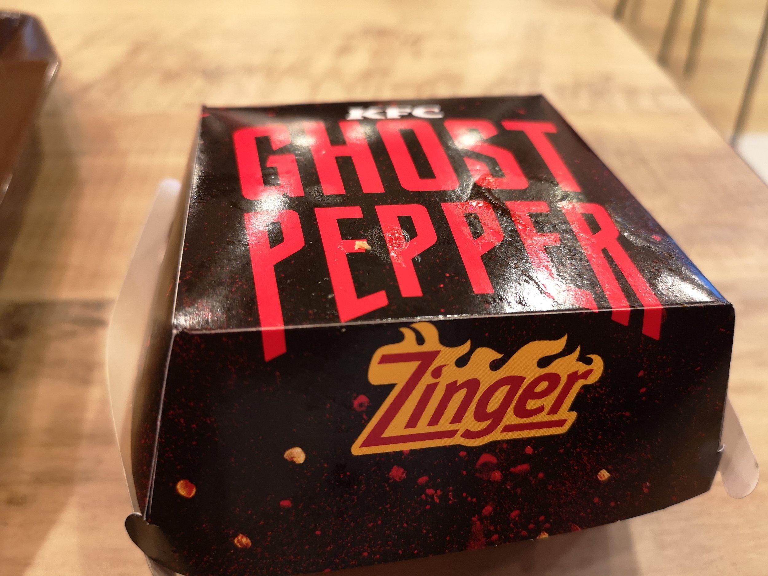 KFC Ghost Pepper Zinger Review