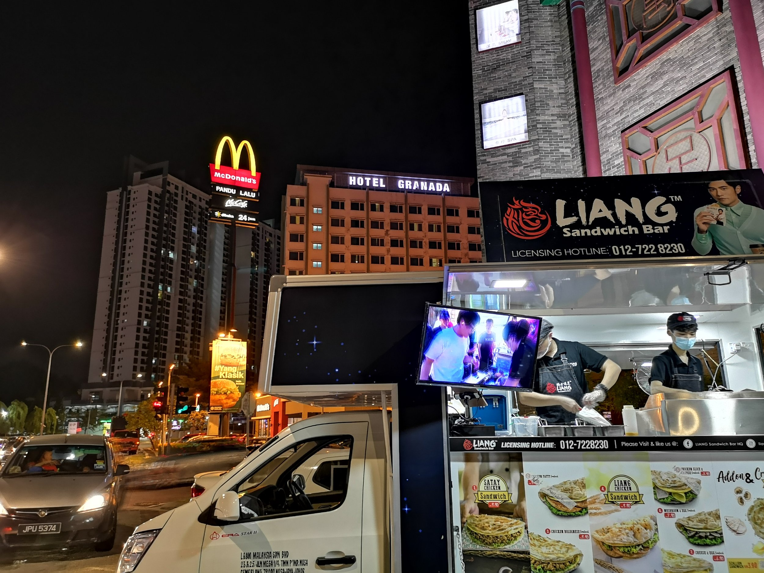 Liang Sandwich Bar Bukit Indah