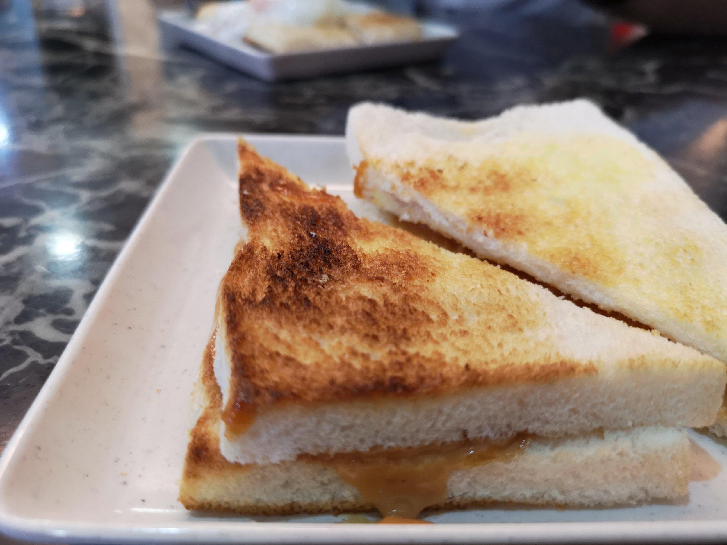 Toast & Coffee Johor Bahru Peanut Butter