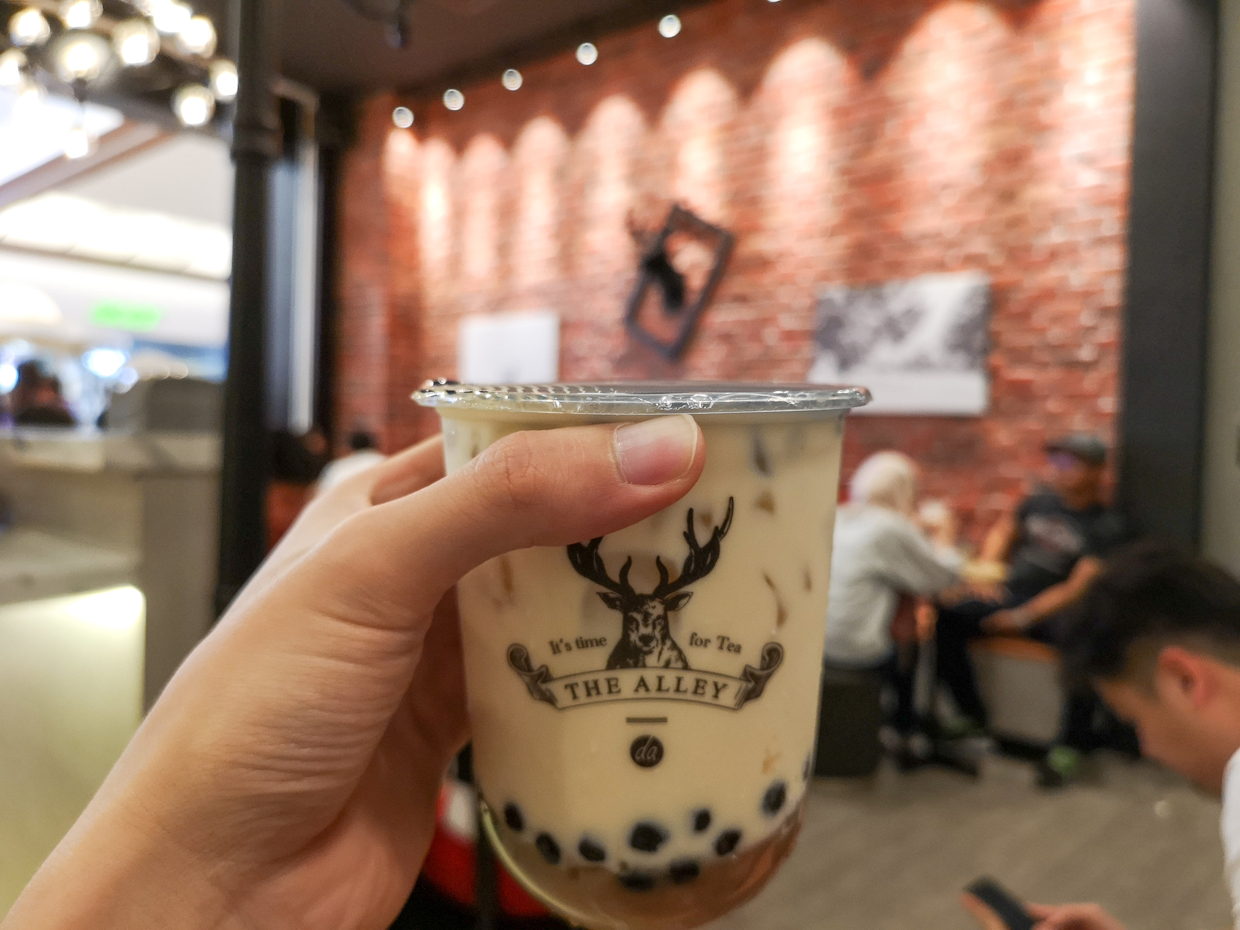 The Alley Little Happiness Milk Tea