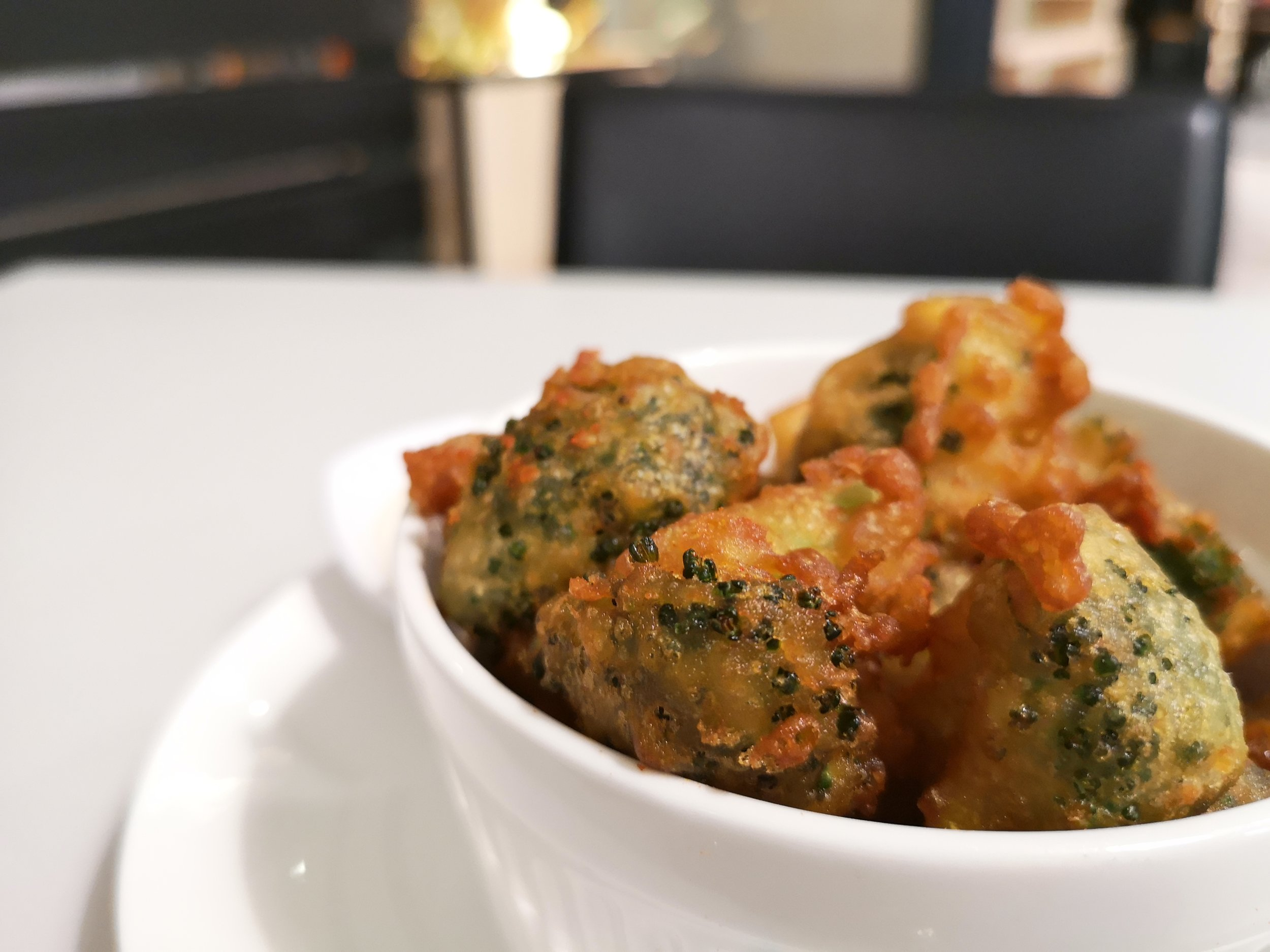 Broccoli Tempura Pizz Citrine Hub