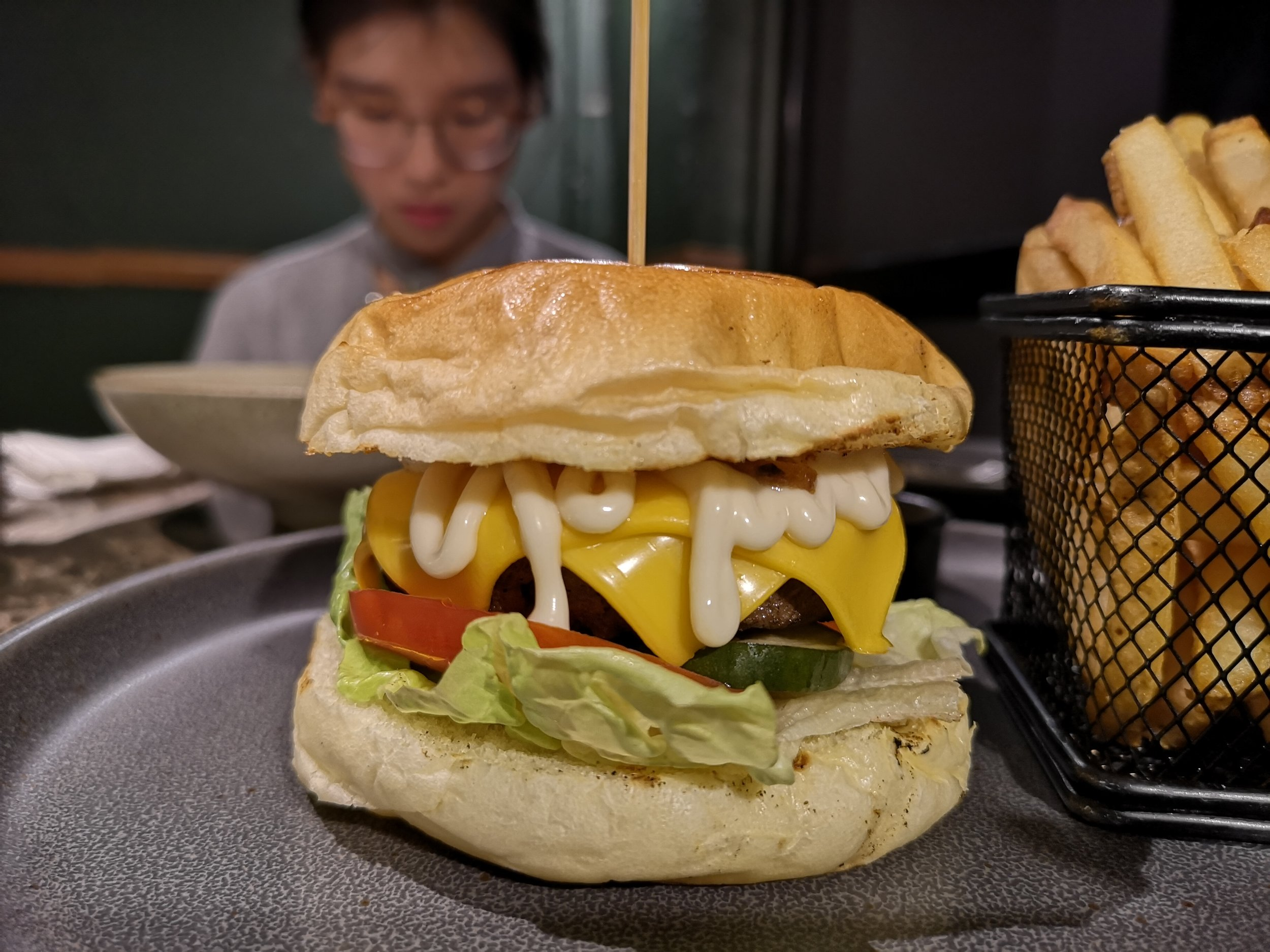 Tropique Beef Burger