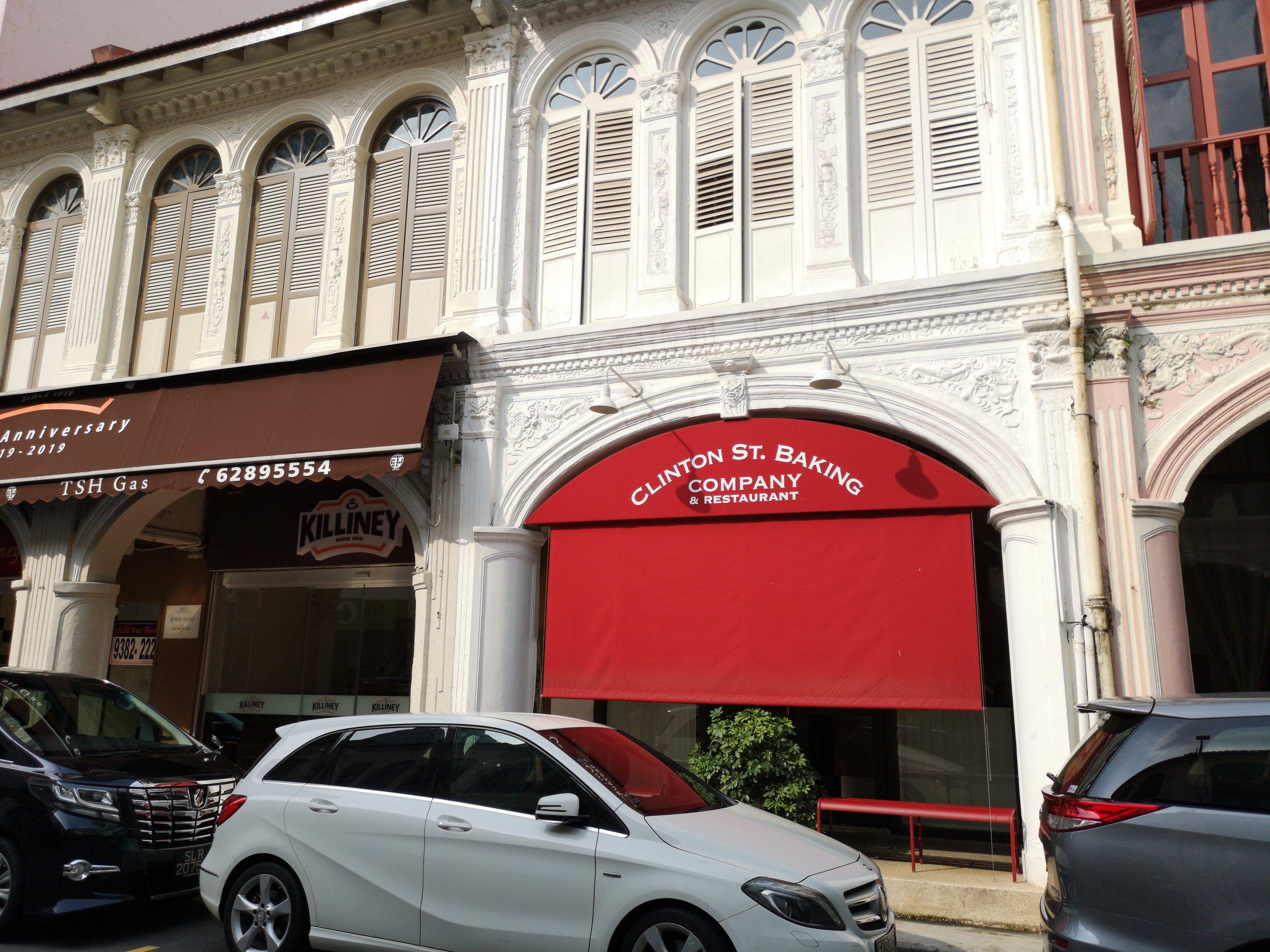 Clinton Street Baking Co Purvis Street Singapore