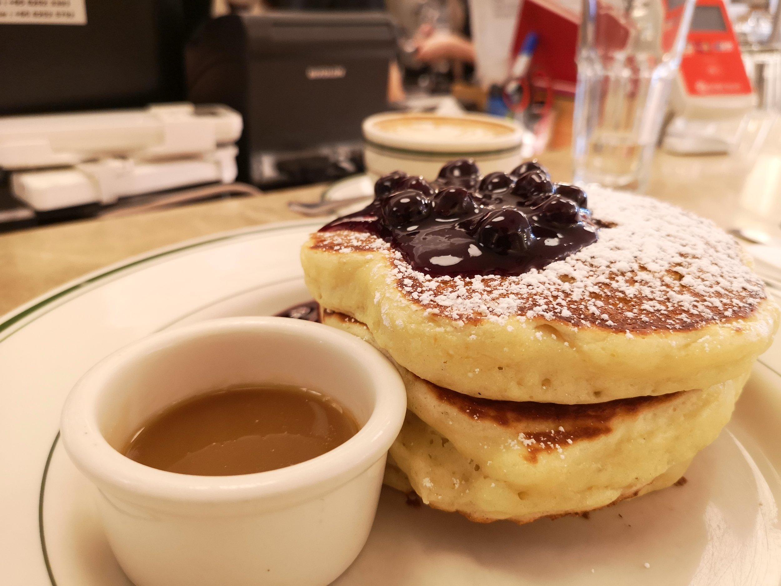 Clinton Street Baking Co Purvis Street Blueberry Pancake