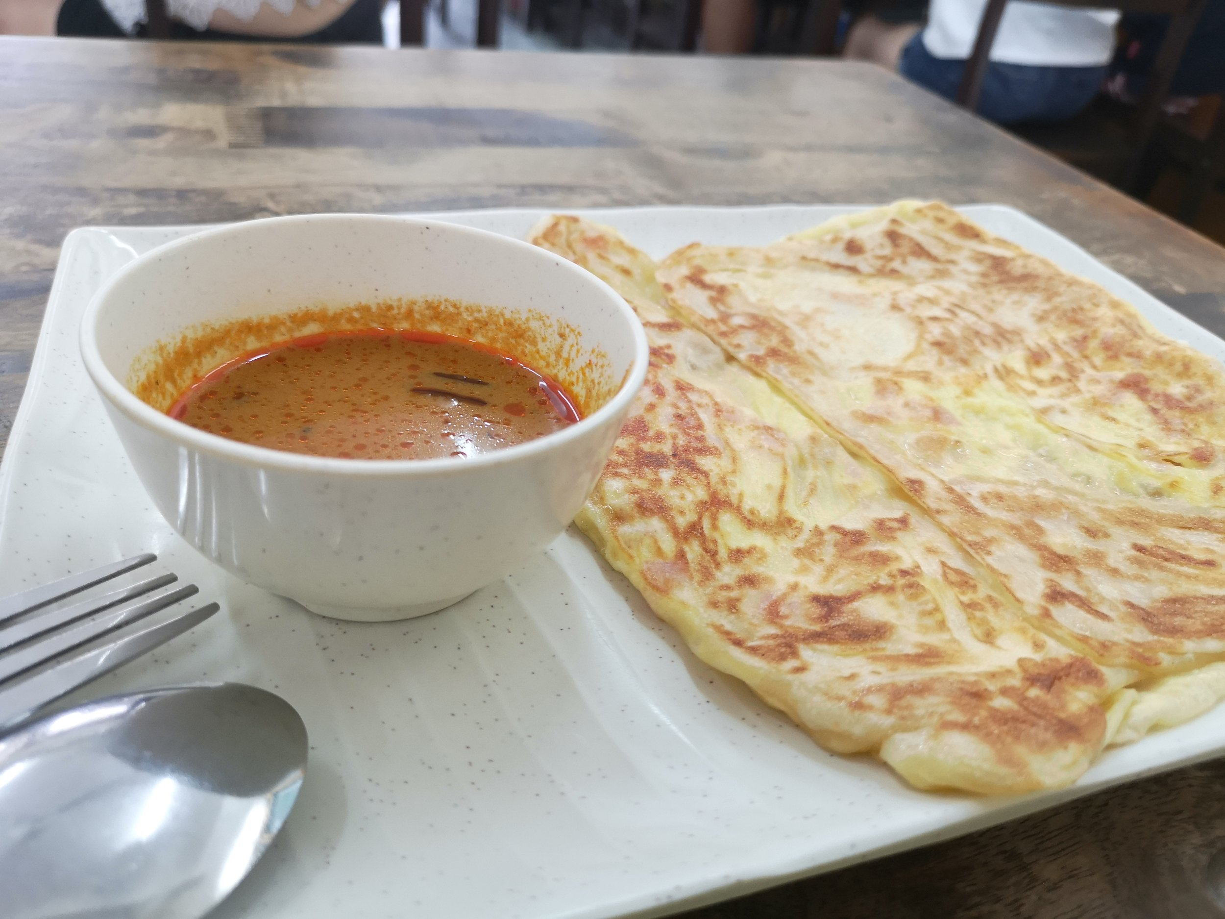 Roti 3-in-1 (Ham Cheese Egg) Chef Prata