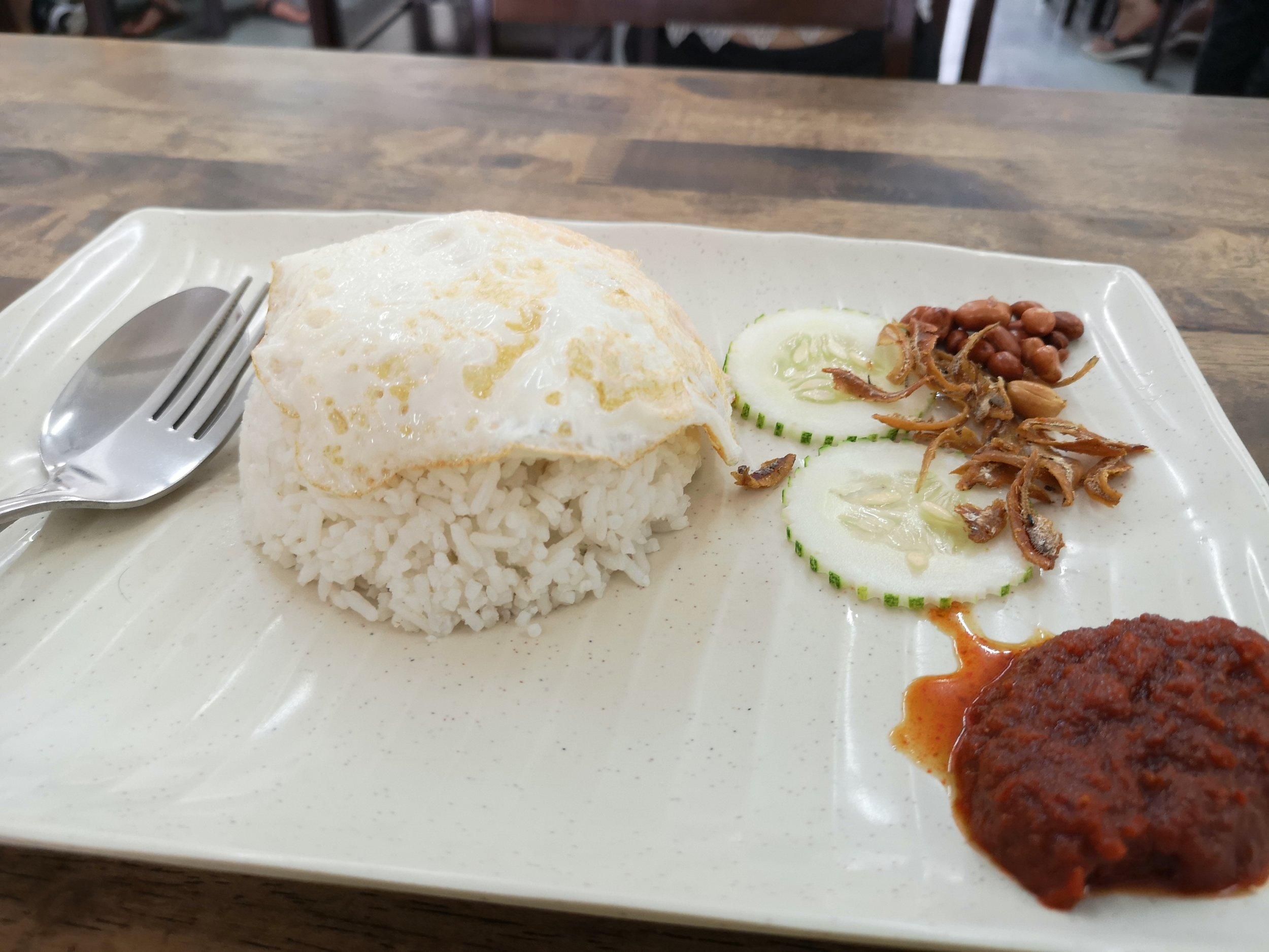 Nasi Lemak Chef Prata