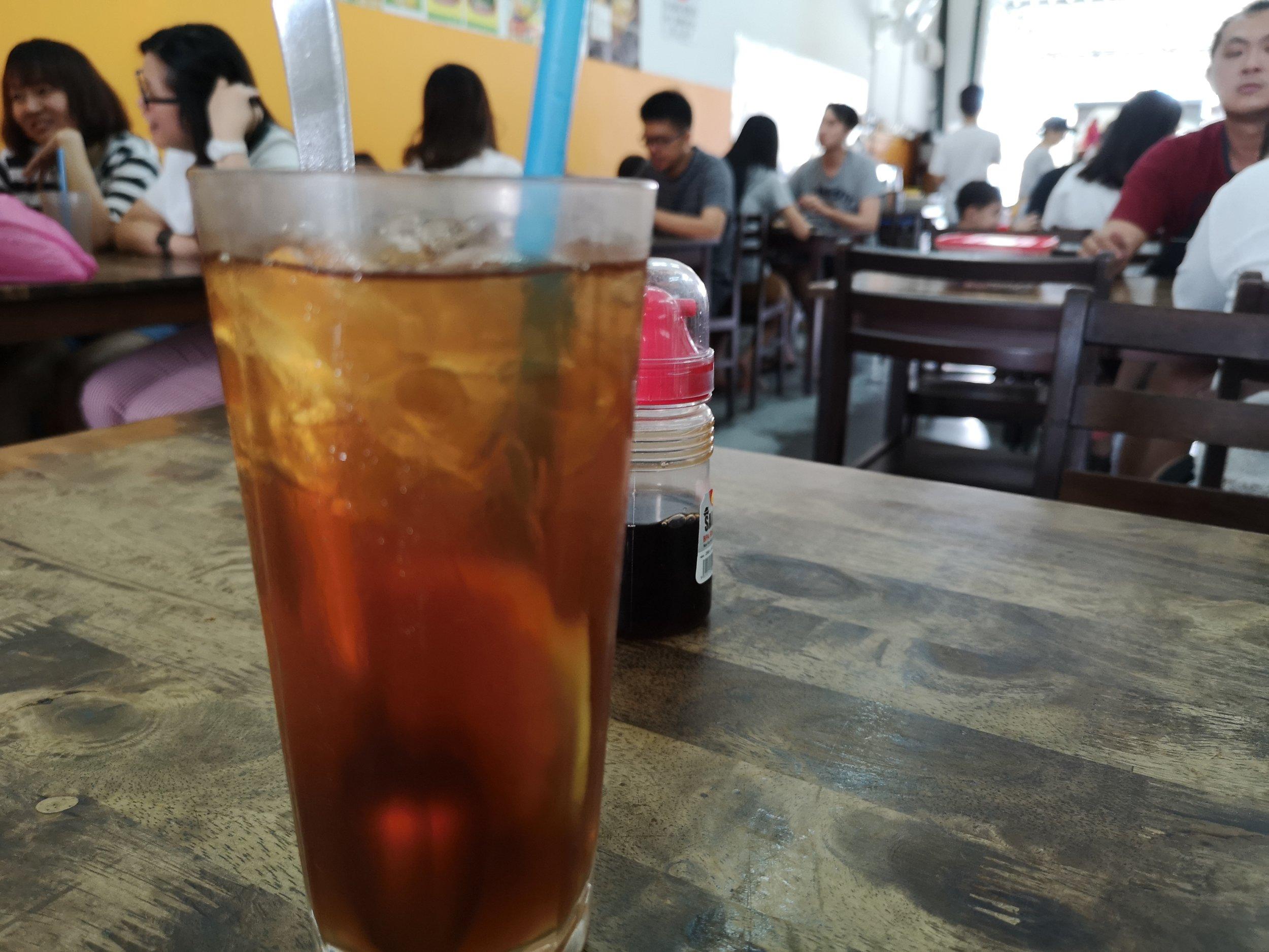 Iced Lemon Tea Chef Prata