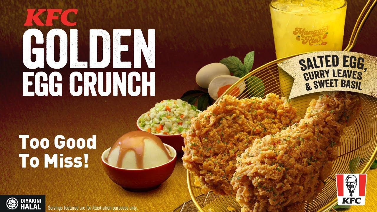 KFC Golden Egg Crunch 2019