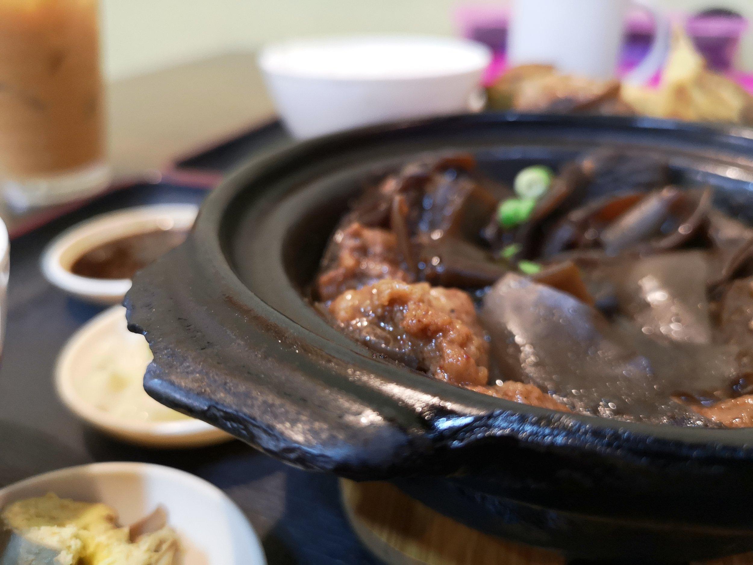 Stew Fried Meat with Black Fungus Gelang Patah