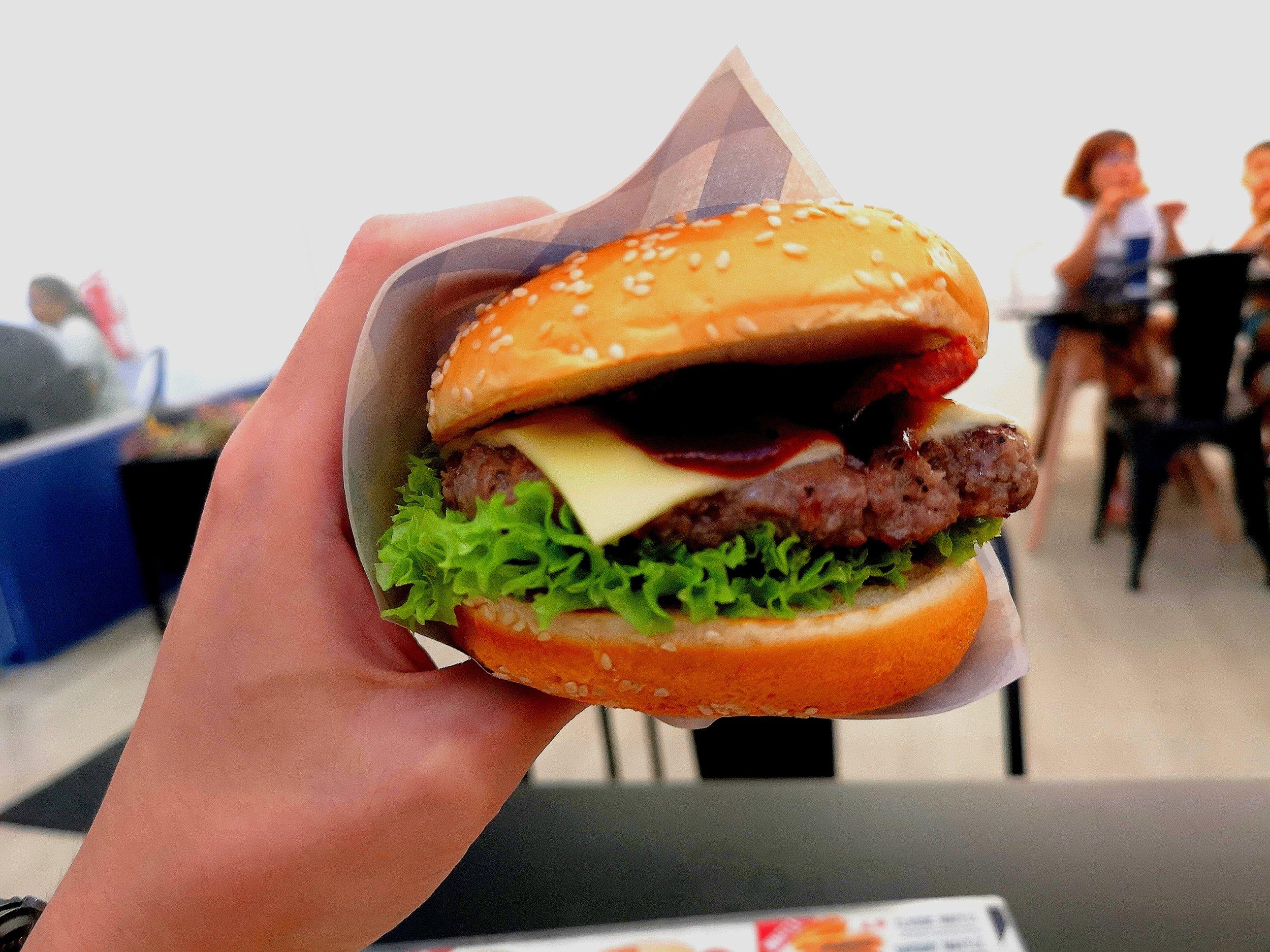 Burger Bandit Ultimate Burger JB