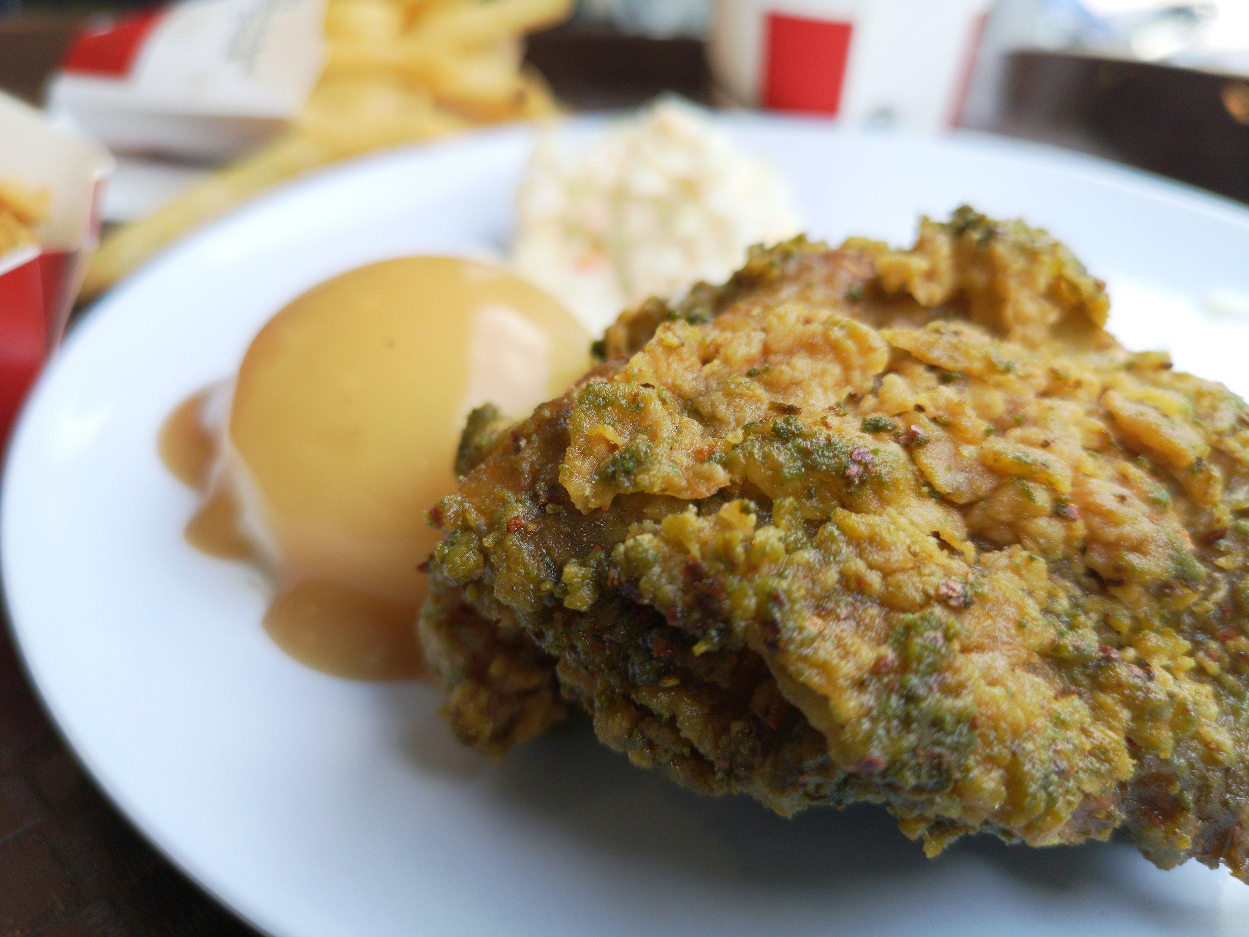KFC Green Chilli Crunch