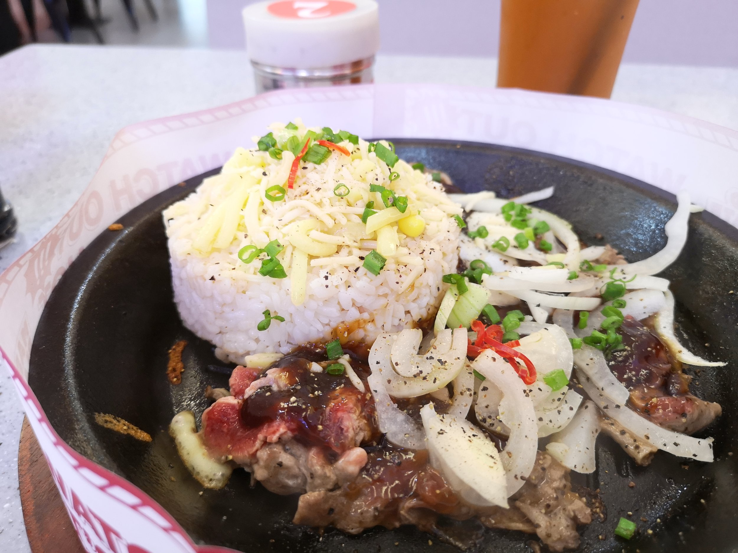 Mad Plate Sizzling Beef Hot Plate