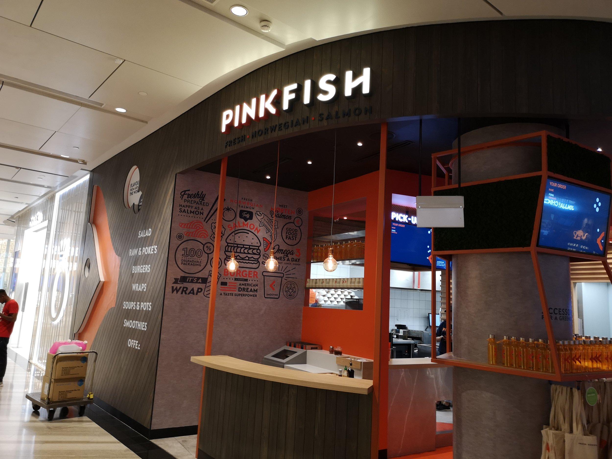 Pink Fish Jewel Singapore
