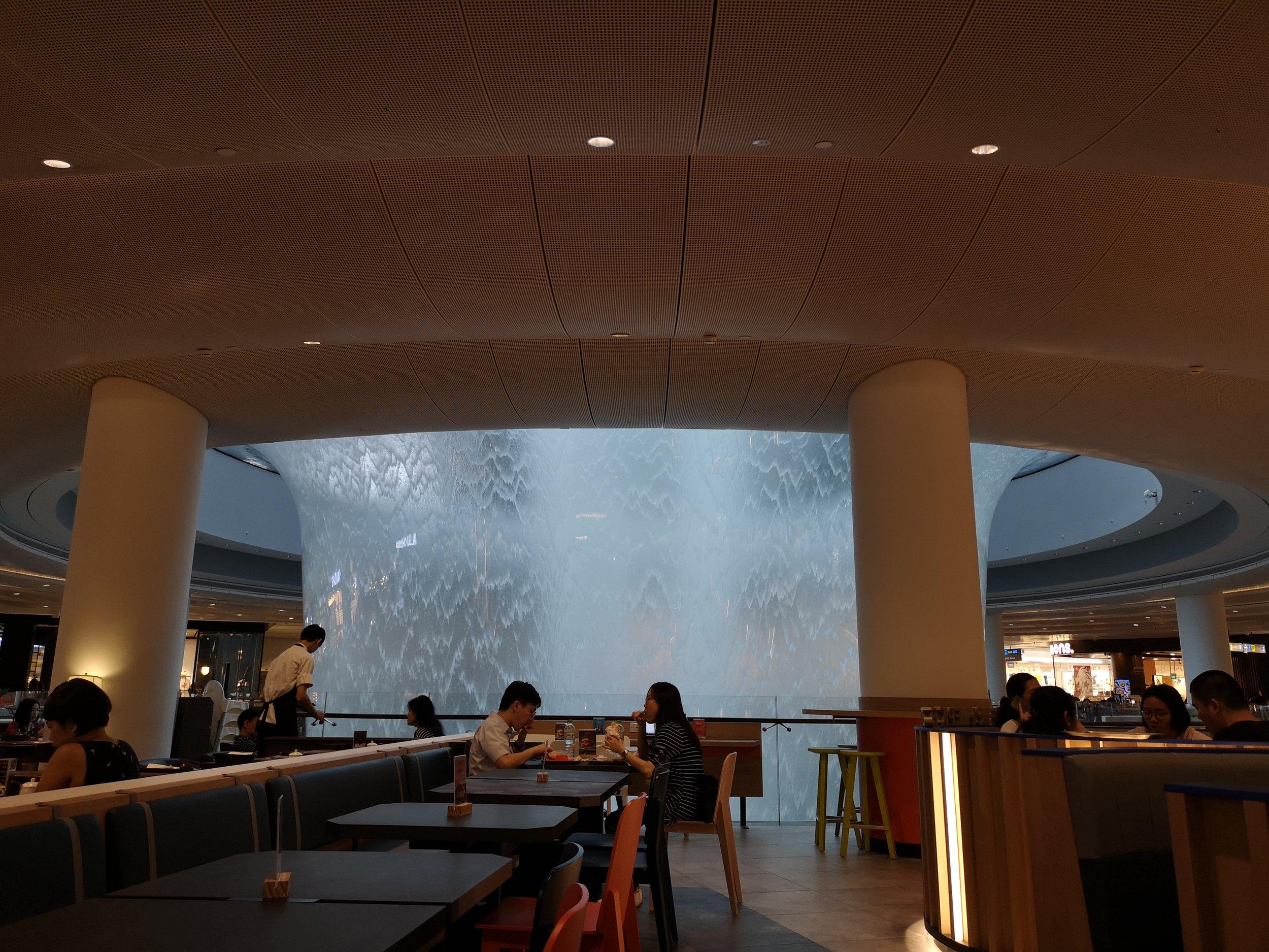 HSBC Waterfall Foodcourt