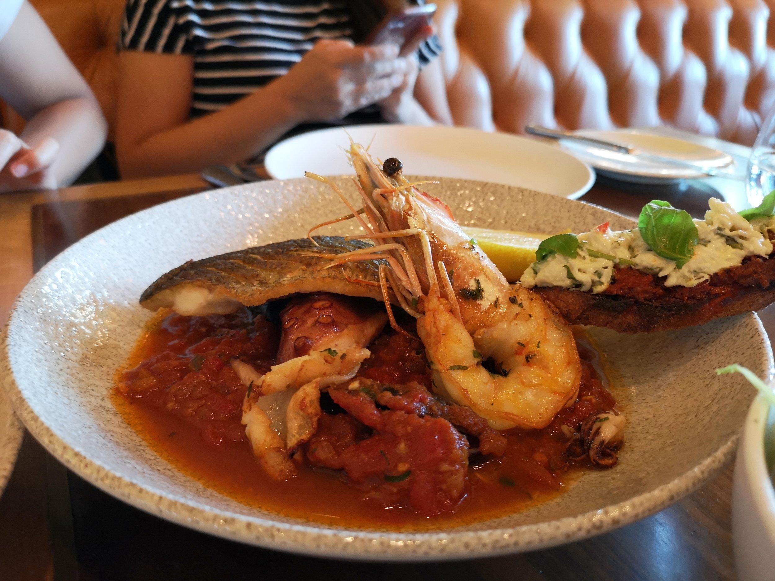 Cornish Seafood Stew (AED165)