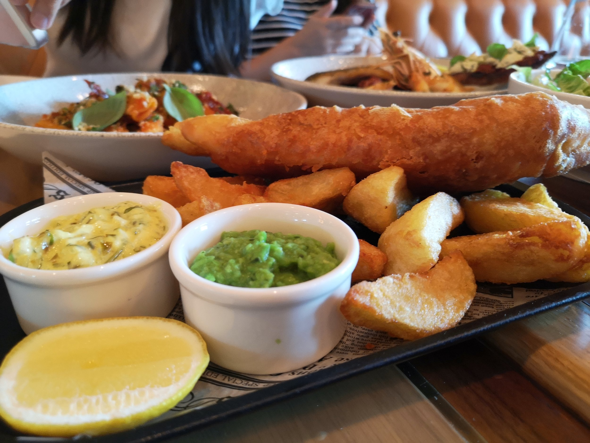 Fish & Chips (AED135)