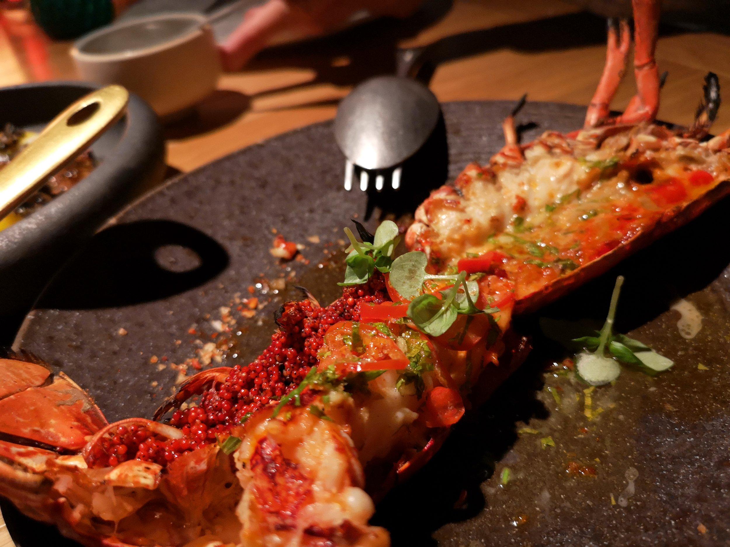 Grilled Scarlet Shrimp Tasca Dubai