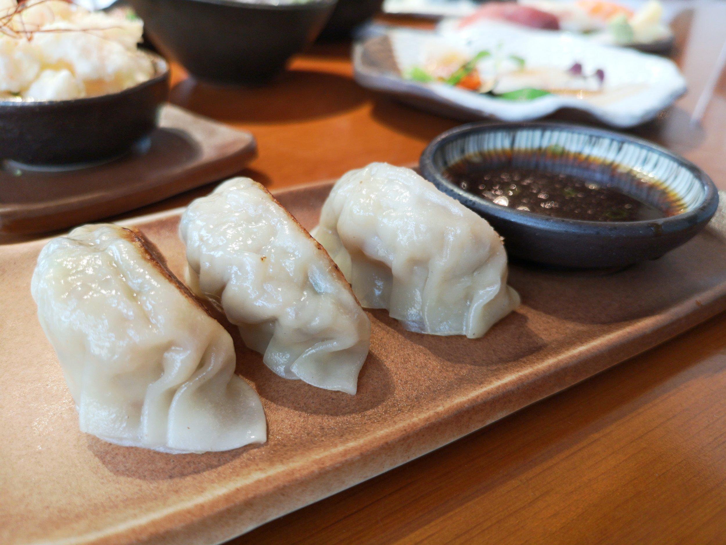 Black Cod & Prawn Dumpling Zuma Dubai