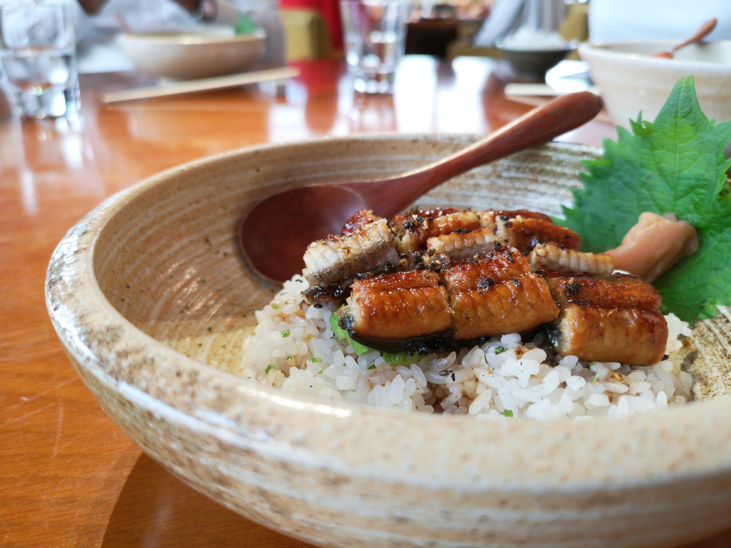 Unagi & Avocado Donburi | Really Yum!
