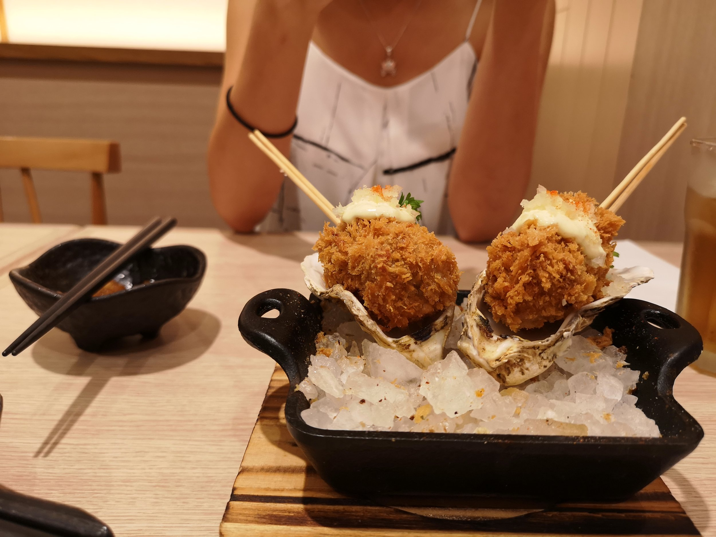 Oyster Skewers (Each for RM6.90)