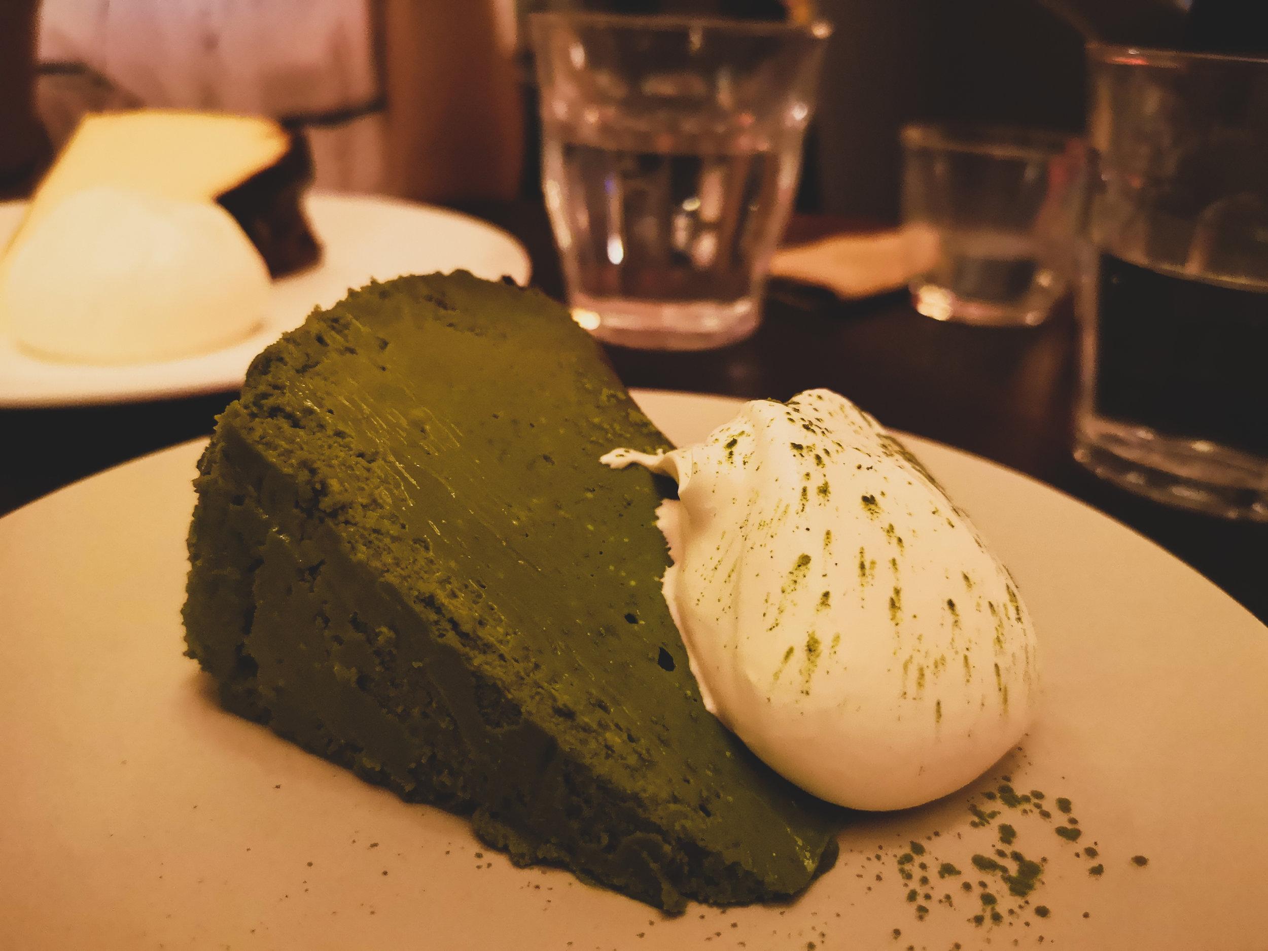 YURI Matcha Cheesecake (RM21)